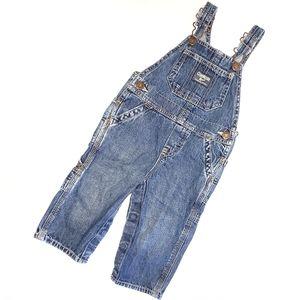12m Oshkosh Bgosh Jean Denim Overall Pants Unisex